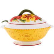 Fitz and Floyd® Flower Market Tureen with Ladle