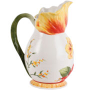 Fitz and Floyd® Flower Market Pitcher