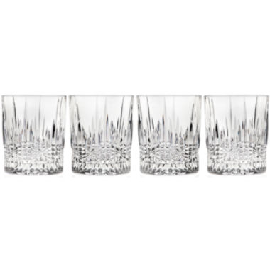 jcpenney.com | Regency by Godinger Set of 4 Crystal Double Old-Fashioned Glasses