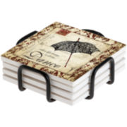 Thirstystone® Dance Coasters Gift Set
