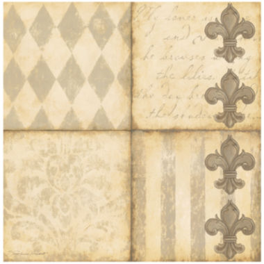 jcpenney.com | Thirstystone® Fleur-de-Lis Set of 4 Coasters
