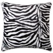 Scene Weaver™ Oversized Animal Print Faux-Fur Decorative Pillow