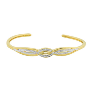 jcpenney.com | Classic Treasures™ Diamond-Accent Twist Cuff Bracelet