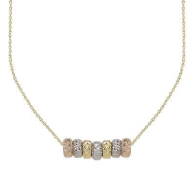necklace tri prod ring double michael kors mu p tone
