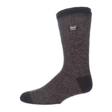 jcpenney.com | Heat Holders® Twist-Yarn Thermal Crew Socks