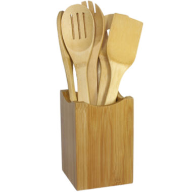 jcpenney.com | Oceanstar 7-pc. Bamboo Cooking Utensil Set
