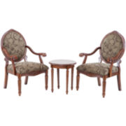 Shiloh 3-pc. Chair and Side Table Set