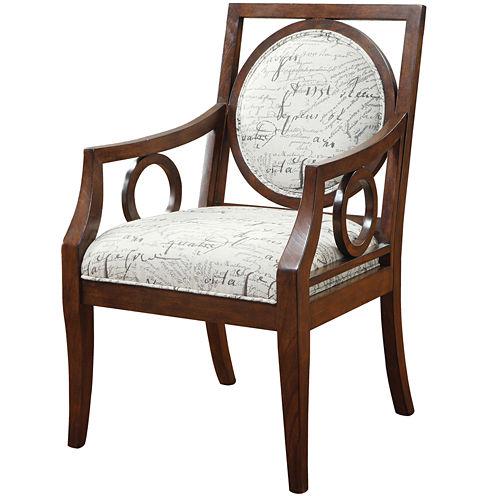 Madison Park Sienna Round Medallion Chair