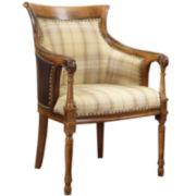Shelley Spooled-Leg Chair