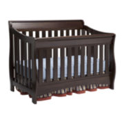 Delta Children's Products™ Bentley 'S' Series 4-in-1 Crib – Chocolate