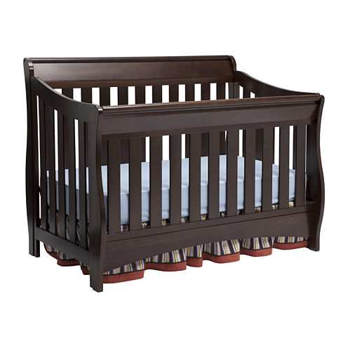 Delta Children's Products™ Bentley 'S' Series 4-in-1 Crib - Chocolate