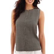 Liz Claiborne® Sleeveless Shell