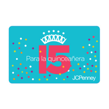 jcpenney.com | $100 Quinceañera Gift Card