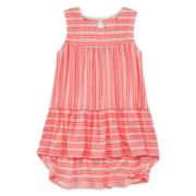 Arizona Tiered Ruffle Tank Top - Girls 7-16 and Plus
