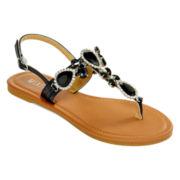 Mixit™ Estate Jewel T-Strap Sandals