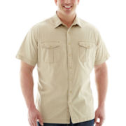 The Foundry Supply Co.™  Crosshatch Woven Shirt–Big & Tall