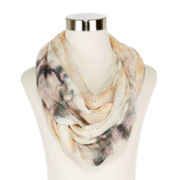 Multicolor Dyed Loop Scarf
