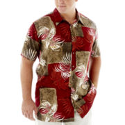 The Foundry Supply Co.™ Short-Sleeve Rayon Shirt–Big & Tall