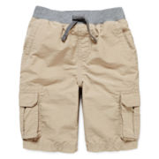 Arizona Pull-On Cargo Shorts - Boys 4-7
