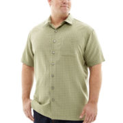 Van Heusen® Short-Sleeve Woven Shirt–Big & Tall