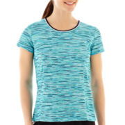 Made For Life™ Short-Sleeve Print Mesh T-Shirt