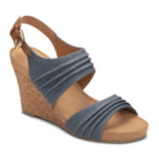 A2 by Aerosoles® May Plush Wedge Sandals