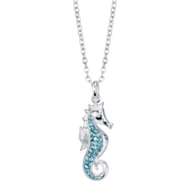 jcpenney.com | Crystal Sophistication™ Crystal Seahorse Necklace Pendant