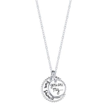 jcpenney.com | Crystal Sophistication™ Sterling Silver Pendant