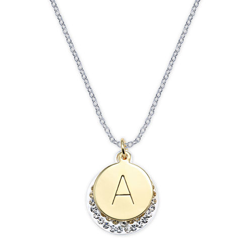 Crystal Sophistication™ Crystal Letter A Initial Pendant