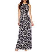 RN Studio by Ronni Nicole Sleeveless Floral Maxi Dress