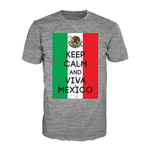 Keep Calm Viva Mexico Short-Sleeve Tee