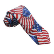 American Lifestyle Flowing Flag Tie