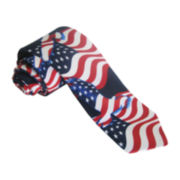 American Lifestyle Eagle Flag Tie