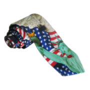 American Lifestyle Liberty Flag Tie