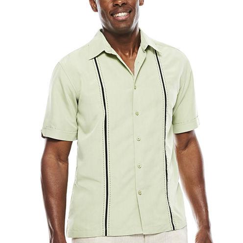 The Havanera Co.® Short-Sleeve Pickstich Insert Shirt