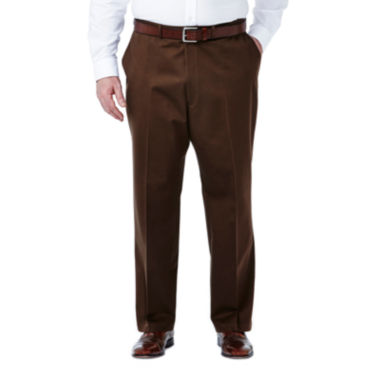 jcpenney.com | Haggar® Work to Weekend® Flat-Front Pants–Big & Tall