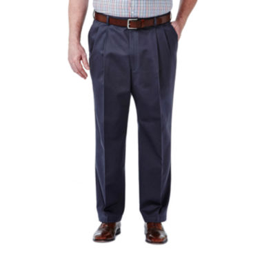 jcpenney.com | Haggar® Work to Weekend® Pleated Pants–Big & Tall
