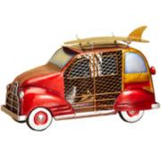 Deco Breeze Woody Car Figurine Fan