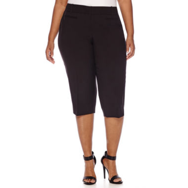 jcpenney.com | Worthington® Welt-Pocket Cropped Pants - Plus