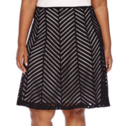 Worthington® Flare Skirt - Plus