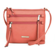 Liz Claiborne® Zippery Crossbody Bag
