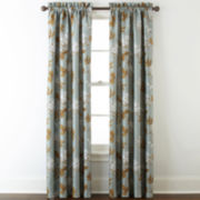 Home Expressions™ Isabelli Faux Silk Rod-Pocket Window Treatments