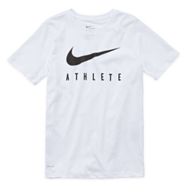 jcpenney.com | Nike® Swoosh Short-Sleeve Graphic Tee - Boys 8-20