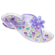 Okie Dokie® Jess Purple Jelly Girls Shoes