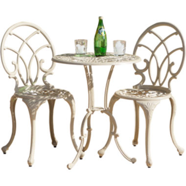 jcpenney.com | Anacapa 3-pc. Outdoor Cast Aluminum Bistro Set