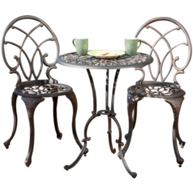 jcpenney.com | Charleston 3-pc. Cast Aluminum Outdoor Bistro Set