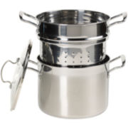 CLOSEOUT! Bella™ 8-qt. Stainless Steel Multi Stock Pot