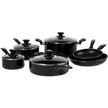 jcpenney.com | Bella™ 10-pc. Aluminum Nonstick Cookware Set