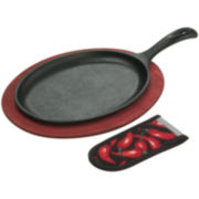 Lodge® 3-pc. Cast Iron Fajita Set