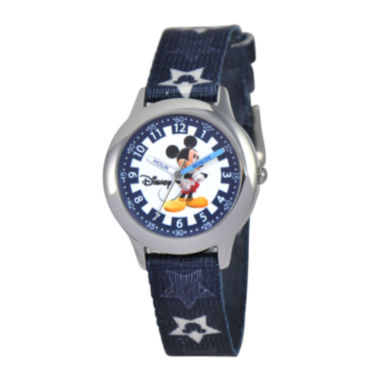 jcpenney.com | Disney Time Teacher Mickey Mouse Kids Black Watch